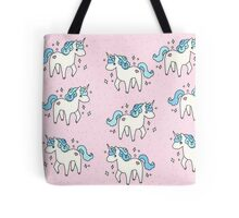 Unicorn Scatter Pattern Tote Bag