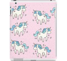 Unicorn Scatter Pattern iPad Case/Skin