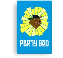 Party God - Adventure Time Canvas Print