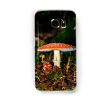 Big mushroom little mushroom Samsung Galaxy Case/Skin
