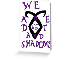 The Infernal Devices t-shirt Greeting Card