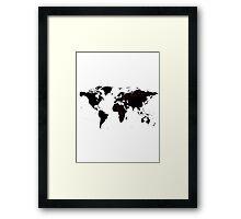 TFB Maps Framed Print