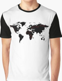 TFB Maps Graphic T-Shirt