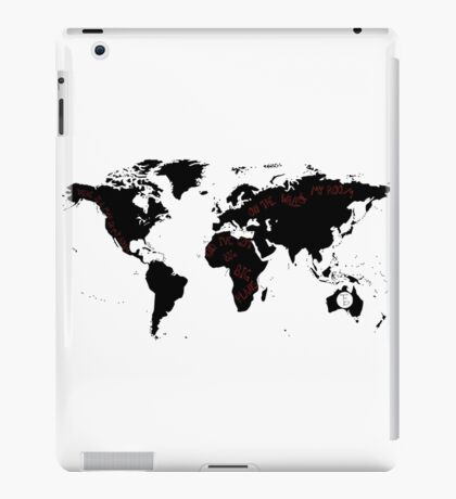 TFB Maps iPad Case/Skin