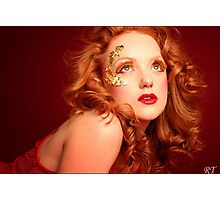 red lioness Photographic Print