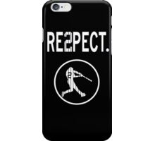 derek Jeter Respect iPhone Case/Skin