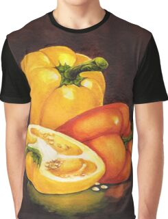Shelley's Bell Peppers Graphic T-Shirt