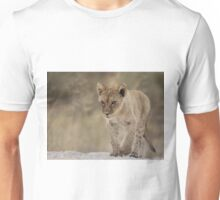 Lion cub with attitude Unisex T-Shirt