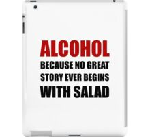 Alcohol Salad iPad Case/Skin