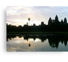 Temples of Angkor Wat Canvas Print