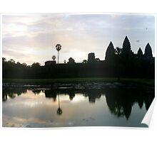 Temples of Angkor Wat Poster