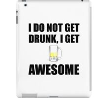 Awesome Drunk iPad Case/Skin