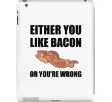 Bacon Or Wrong iPad Case/Skin