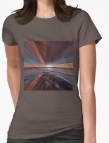 Fantasy Sunset 7 Womens Fitted T-Shirt