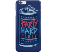 Party Hard Party iPhone Case/Skin