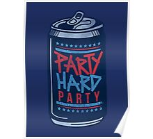 Party Hard Party Poster