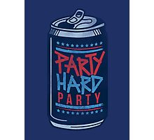 Party Hard Party Photographic Print