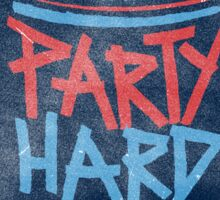 Party Hard Party Sticker