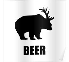 Beer Bear Poster