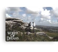 WORLD OF DREAMS - Cornwall scenery  Canvas Print