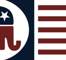 Republican Party Sticker
