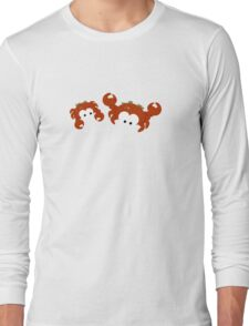 Two Crabs Long Sleeve T-Shirt
