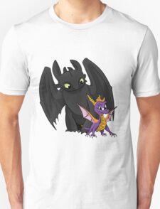 Spyro and Toothless Unisex T-Shirt