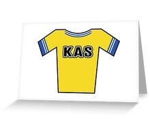 Retro Jerseys Collection - KAS Greeting Card