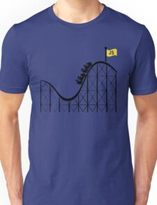 Javascript roller coaster Unisex T-Shirt