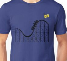 Javascript roller coaster Unisex T-Shirt