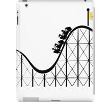 Javascript roller coaster iPad Case/Skin