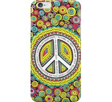 Psychedelic Polkadot Peace iPhone Case/Skin