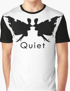 Quiet Eyes Graphic T-Shirt