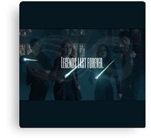 Legends last forever - Shadowhunters  Canvas Print
