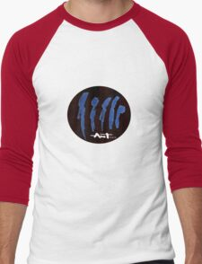 peoples are abstract Men's Baseball ¾ T-Shirt