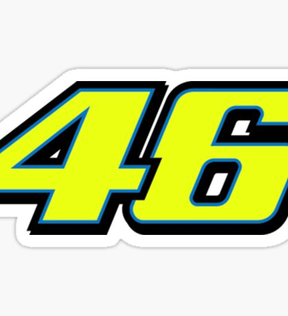 Valetino Rossi 46 Sticker