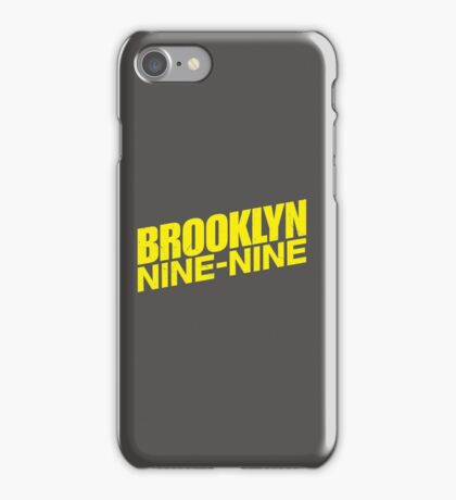 Brooklyn nine nine - tv series iPhone Case/Skin