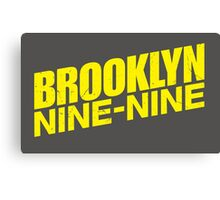 Brooklyn nine nine - tv series Canvas Print
