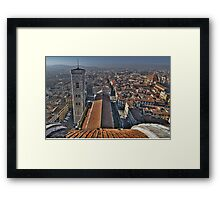 Florence Cathedral - Cathedral Square Framed Print