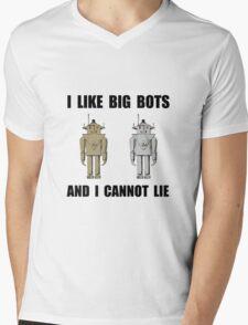 I Like Big Bots Mens V-Neck T-Shirt