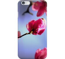 """ Spring Magnolia Flowers "" iPhone Case/Skin"