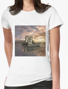 Fantasy Tower Womens Fitted T-Shirt