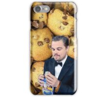 Leonardo DiCaprio Cookie iPhone Case/Skin