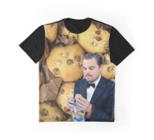 Leonardo DiCaprio Cookie Graphic T-Shirt