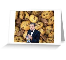 Leonardo DiCaprio Cookie Greeting Card