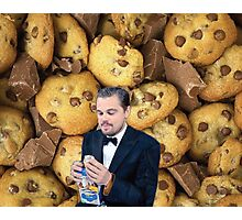 Leonardo DiCaprio Cookie Photographic Print