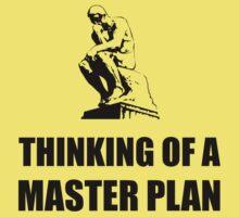 Master Plan Baby Tee