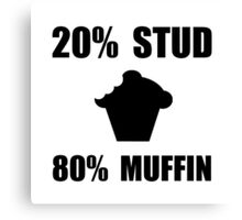 Mostly Muffin Canvas Print