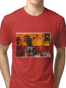 man in a hat Tri-blend T-Shirt