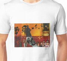 man in a hat Unisex T-Shirt